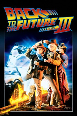 Back to the Future, Part III poster