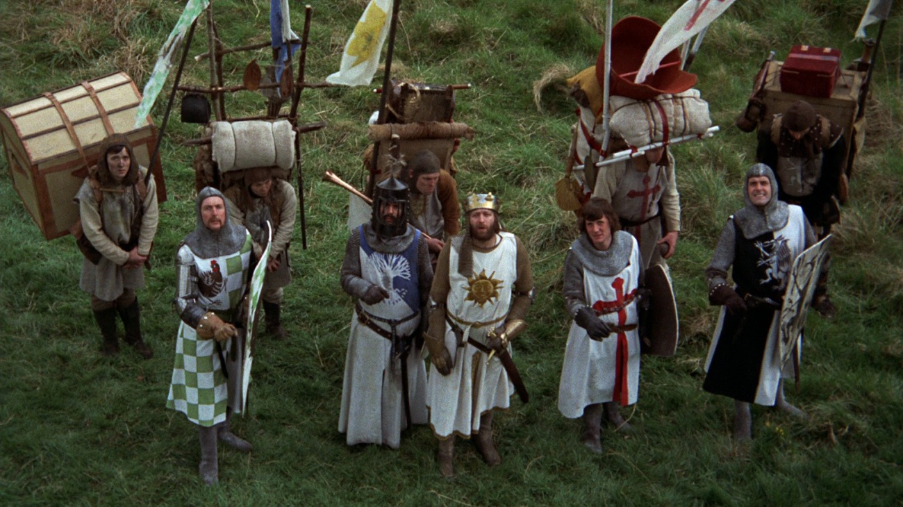 Monty Python and the Holy Grail backdrop