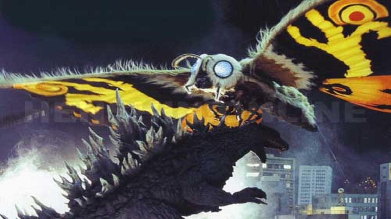 Godzilla: Tokyo S.O.S. backdrop