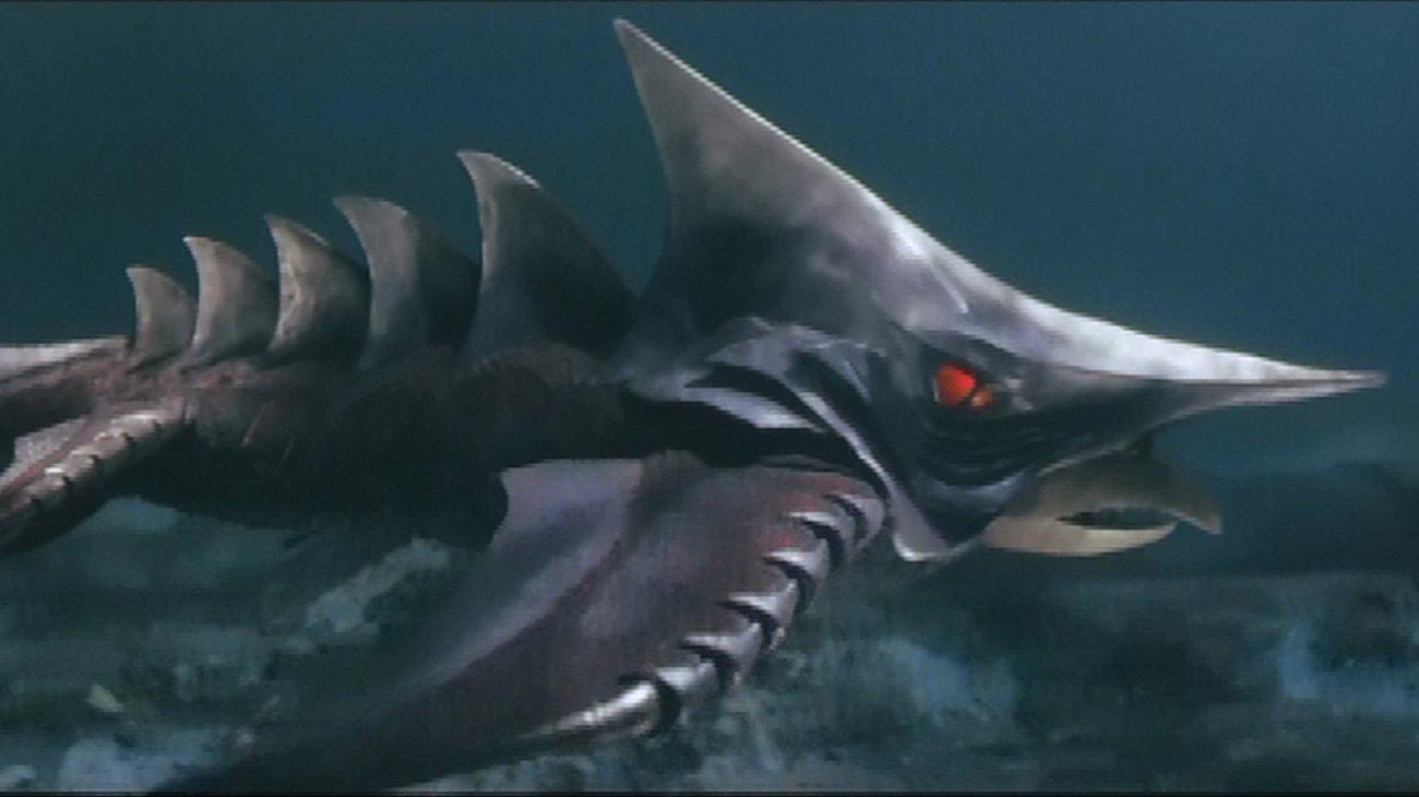 Gamera vs. Zigra backdrop