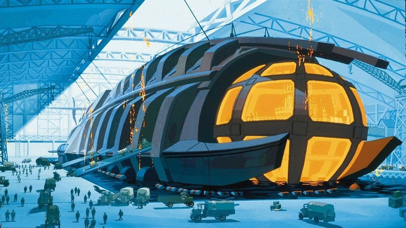 Atlantis: The Lost Empire backdrop