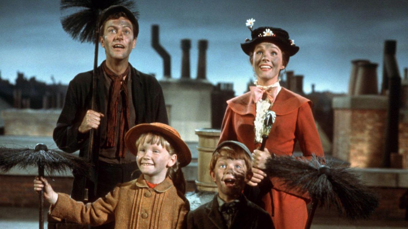 Mary Poppins backdrop