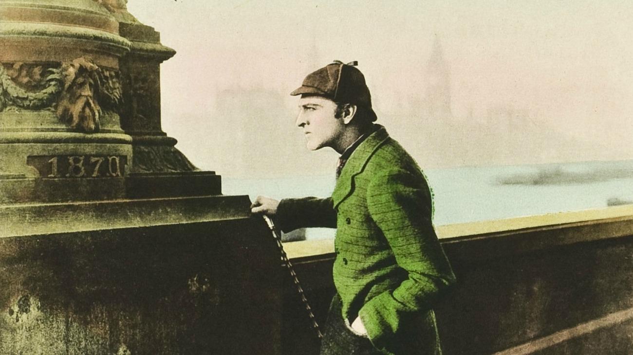 Sherlock Holmes backdrop