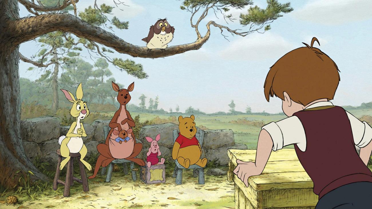 Winnie the Pooh backdrop
