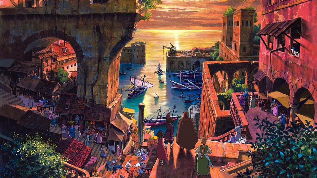 Tales from Earthsea backdrop