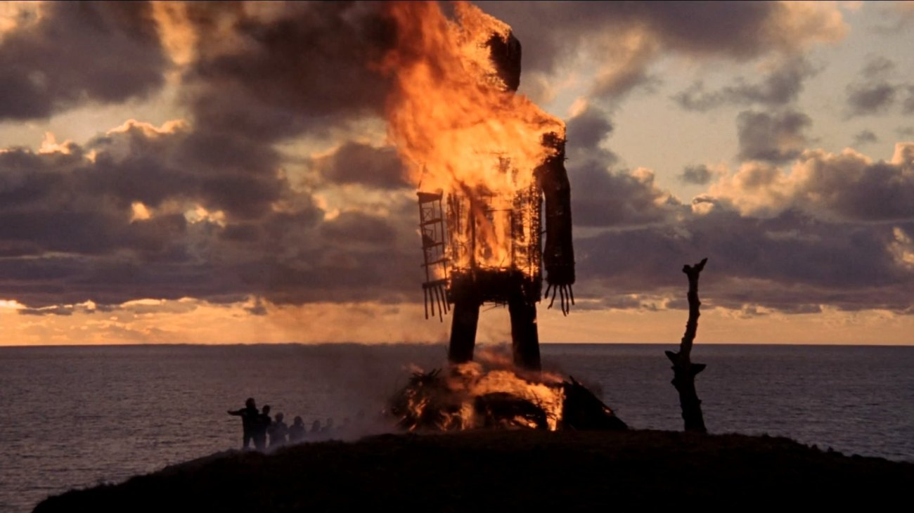 The Wicker Man backdrop
