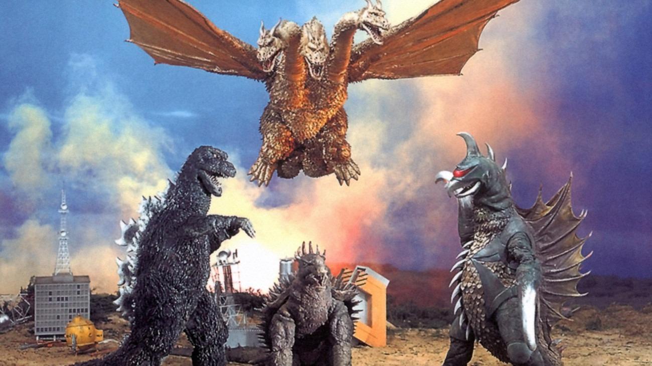Godzilla vs. Gigan backdrop