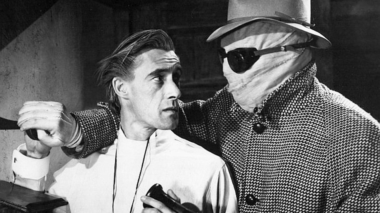 The Invisible Man's Revenge backdrop