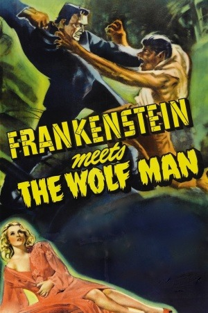 Frankenstein Meets the Wolf Man poster