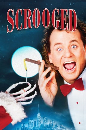 Scrooged poster