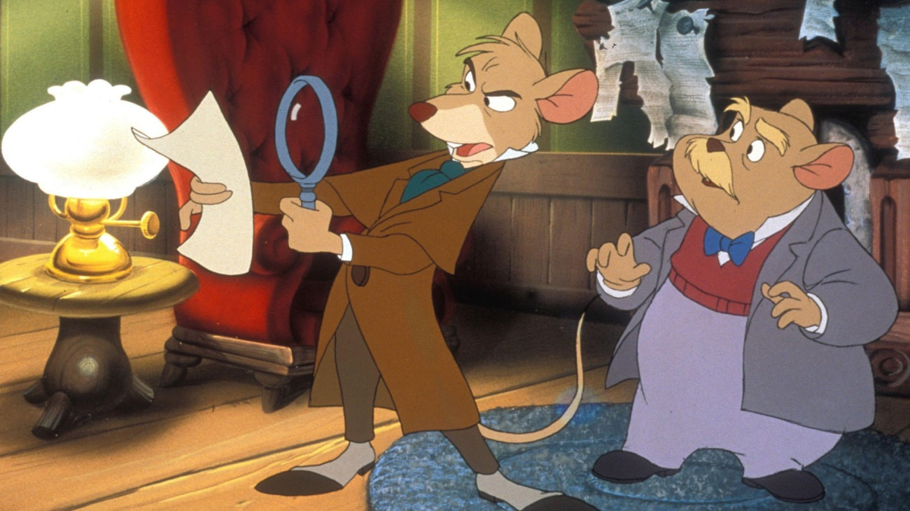 The Great Mouse Detective backdrop