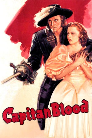 Captain Blood poster