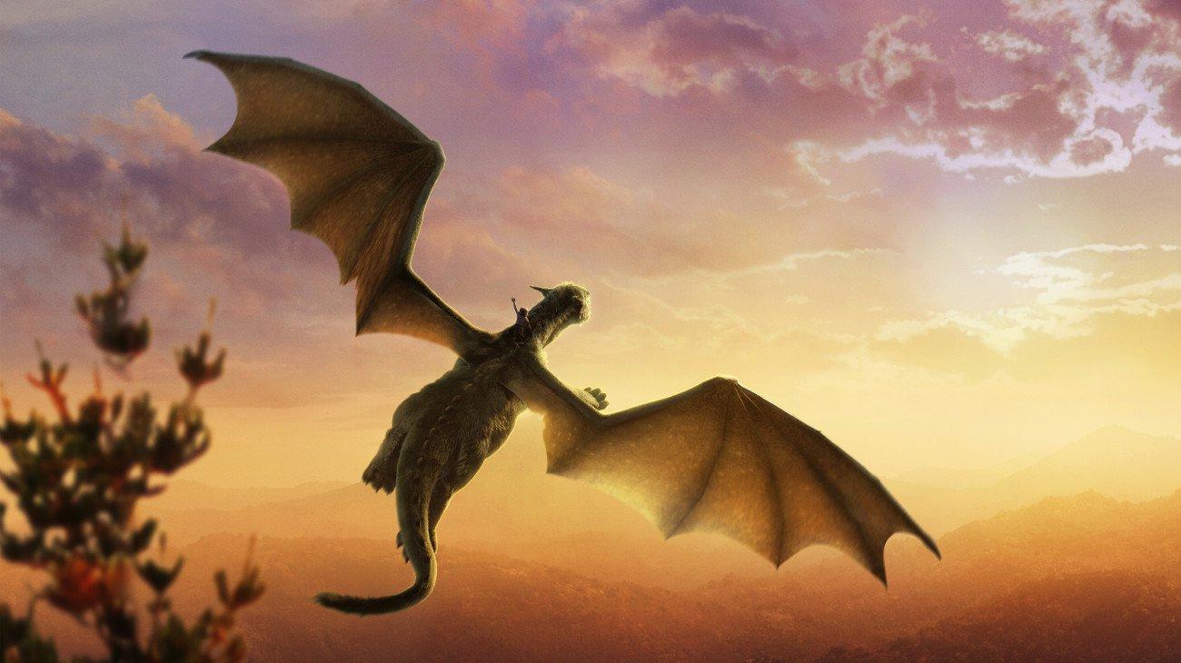 Pete's Dragon backdrop