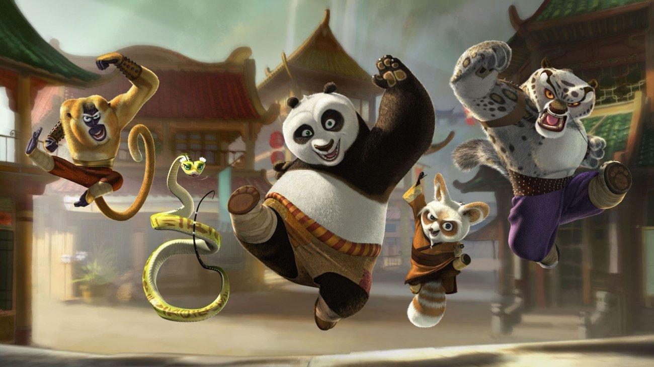 Kung Fu Panda backdrop