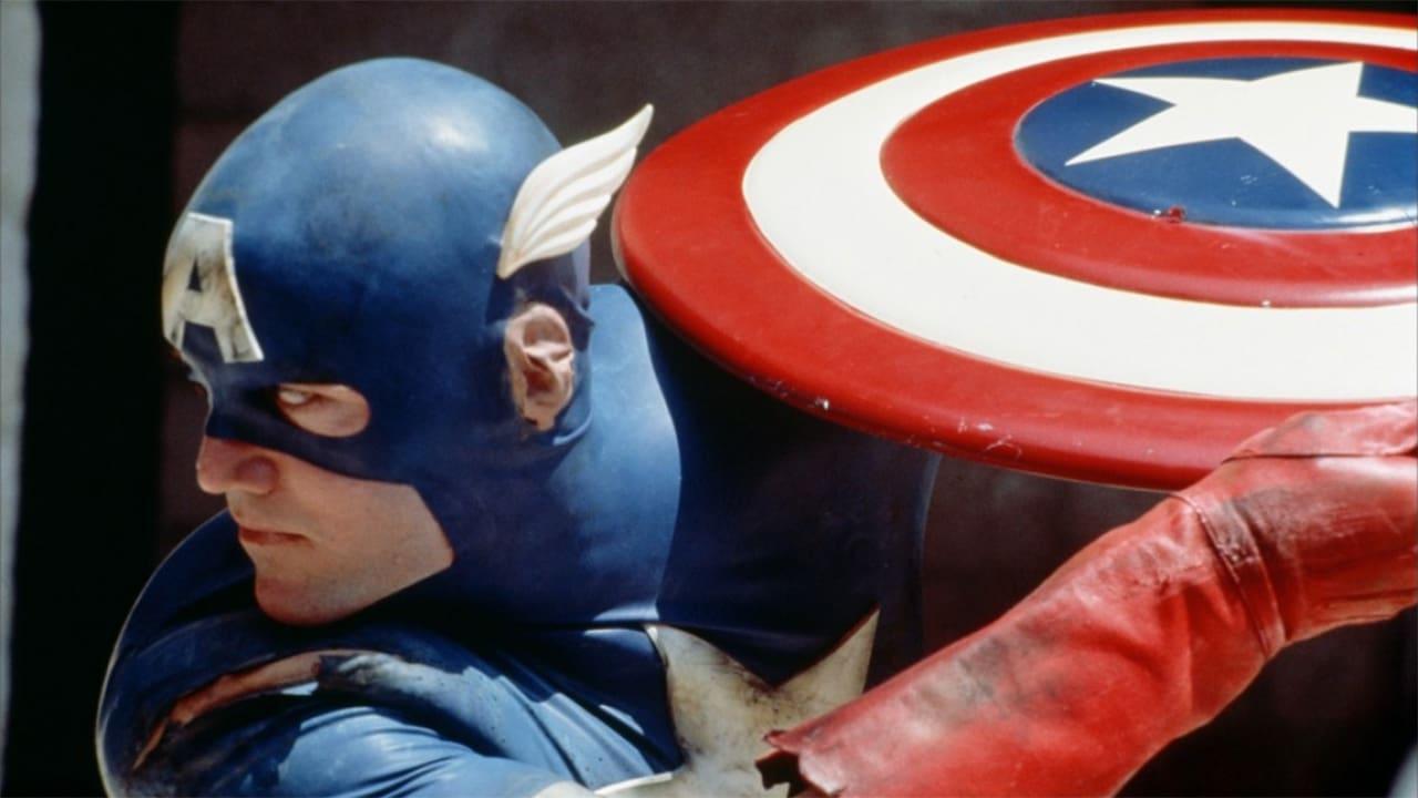 Captain America backdrop