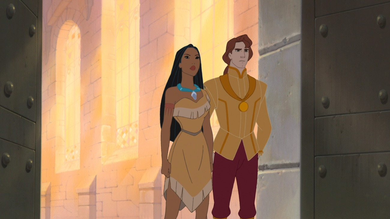 Pocahontas II: Journey to a New World backdrop