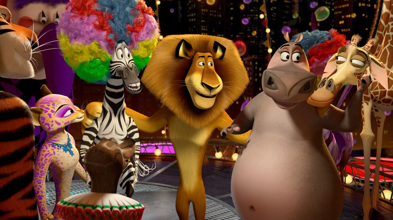 Madagascar 3: Europe's Most Wanted backdrop