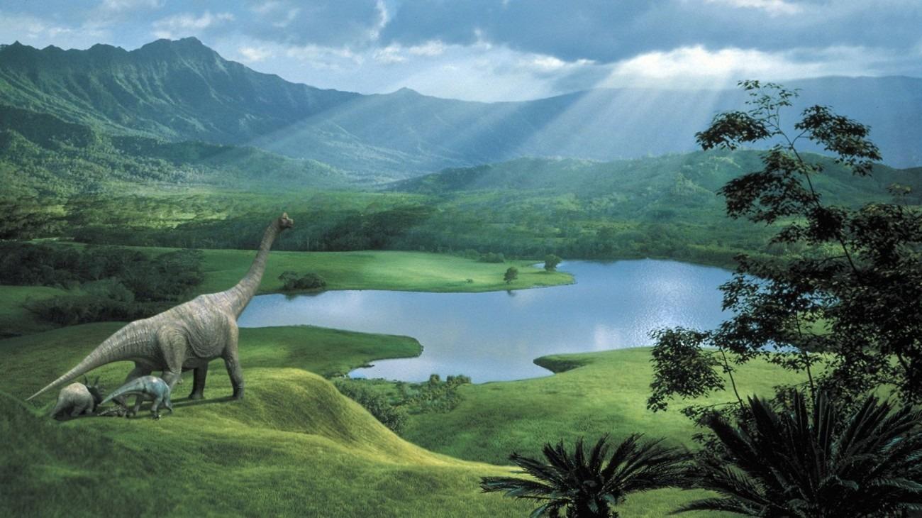Dinosaur backdrop