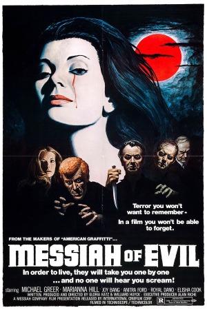 Messiah of Evil poster