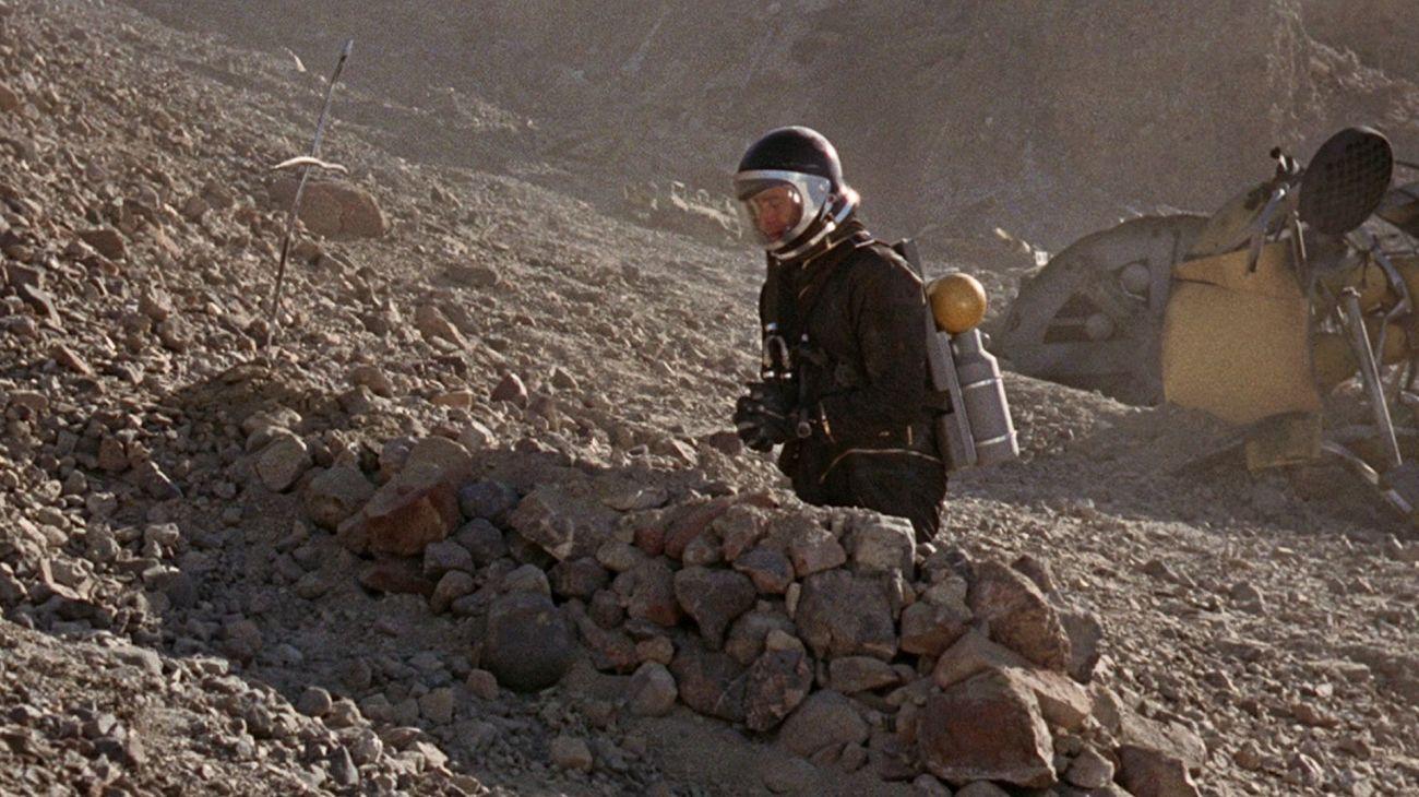 Robinson Crusoe on Mars backdrop