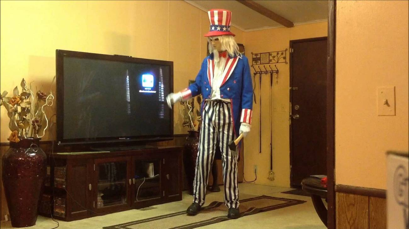Uncle Sam backdrop