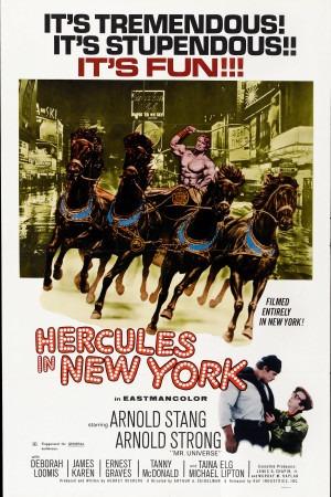 Hercules in New York poster
