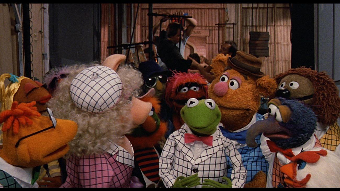 The Muppets Take Manhattan backdrop