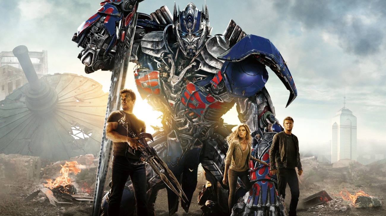 Transformers: Age of Extinction backdrop