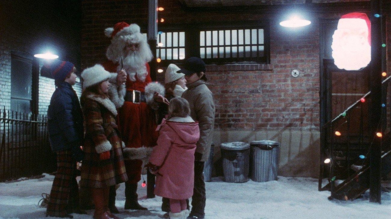 Christmas Evil backdrop