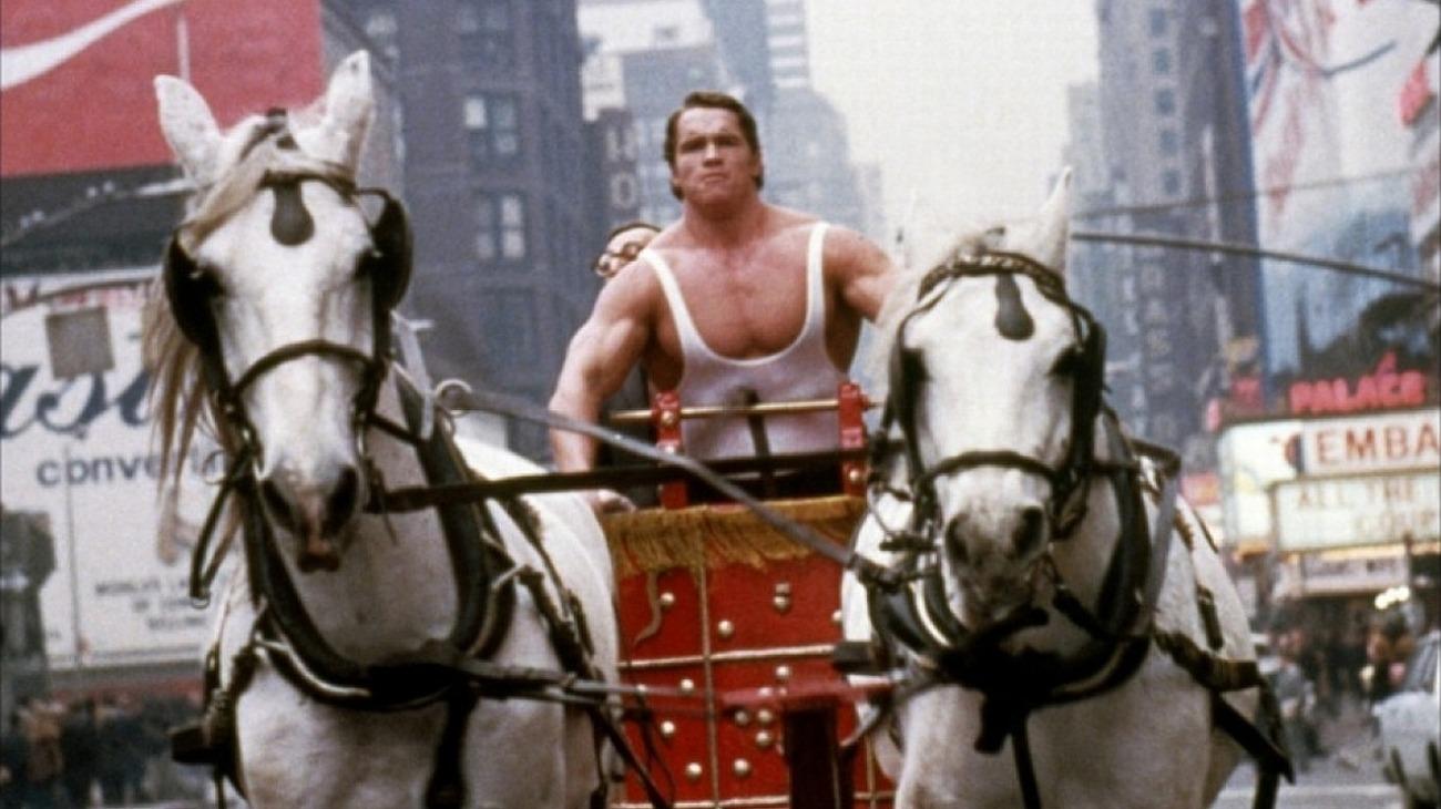 Hercules in New York backdrop