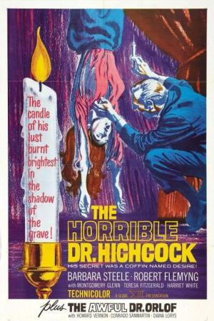 The Horrible Secret of Dr. Hichcock poster