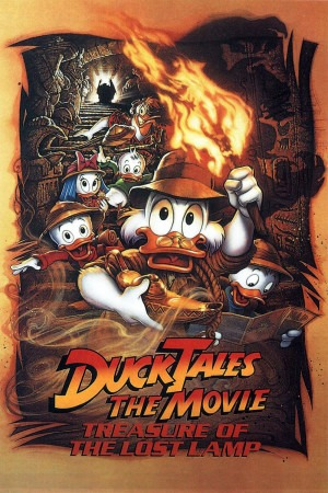 DuckTales the Movie: Treasure of the Lost Lamp poster
