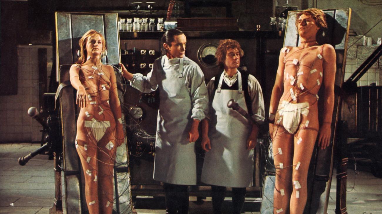Flesh for Frankenstein backdrop