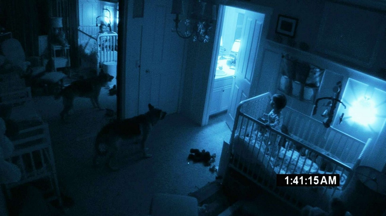Paranormal Activity 2 backdrop