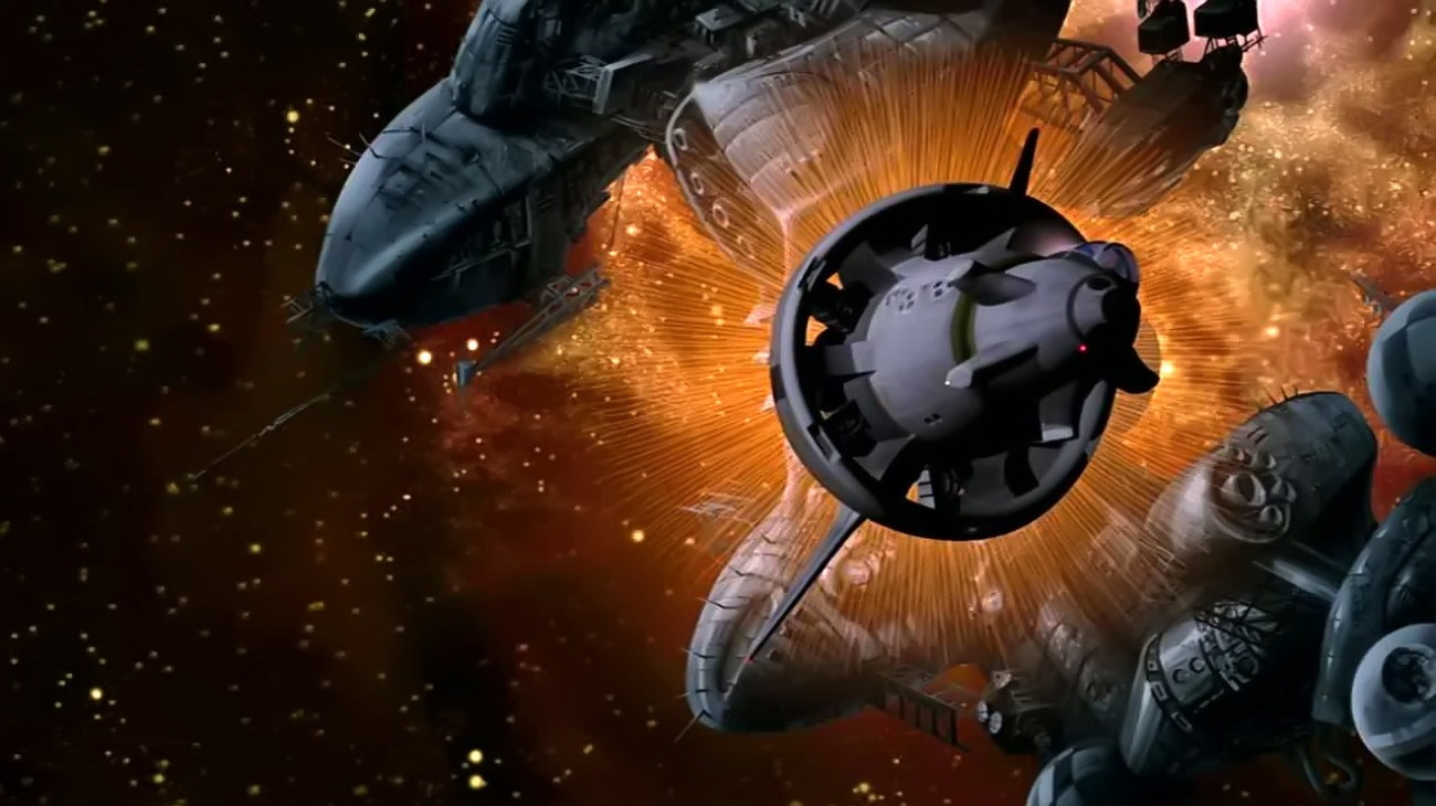 Titan A.E. backdrop