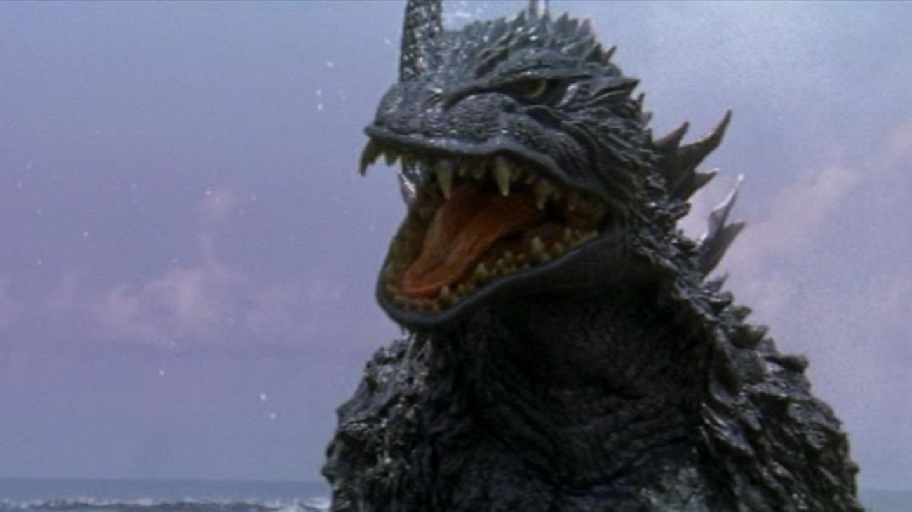 Godzilla vs. Megaguirus backdrop