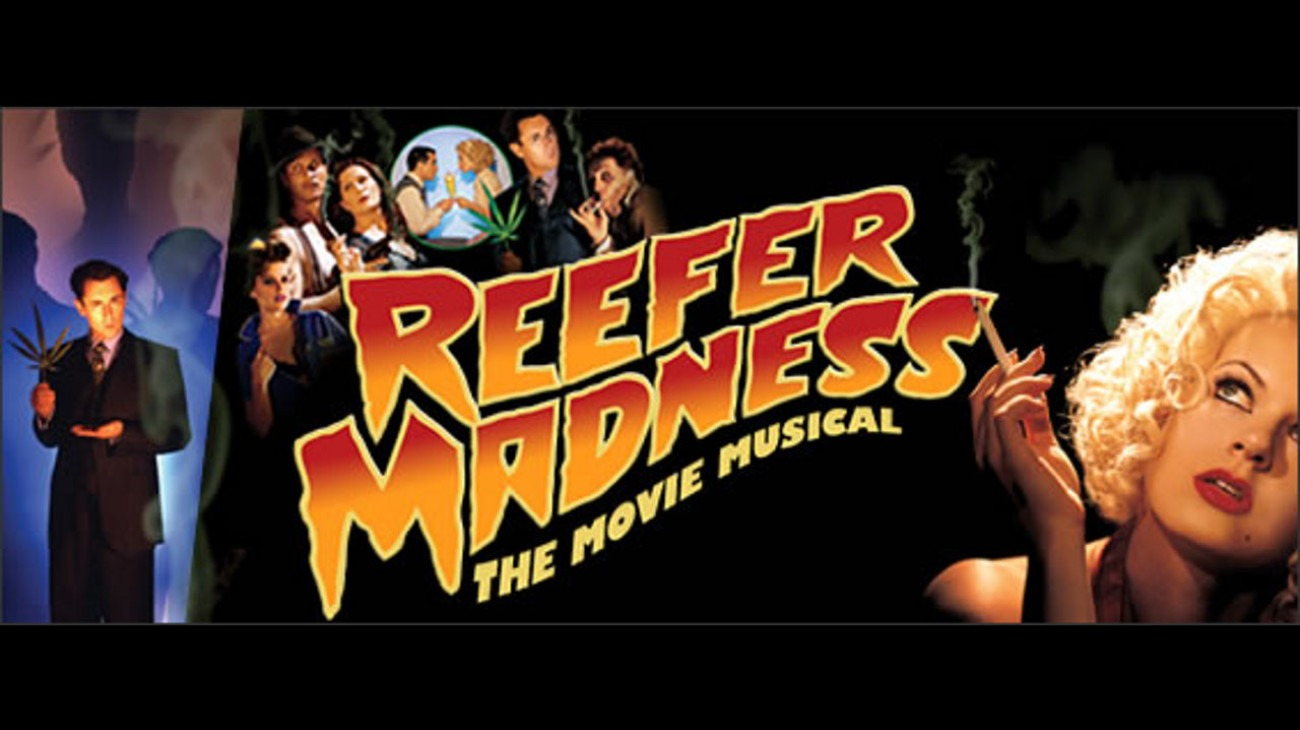 Reefer Madness: The Movie Musical backdrop