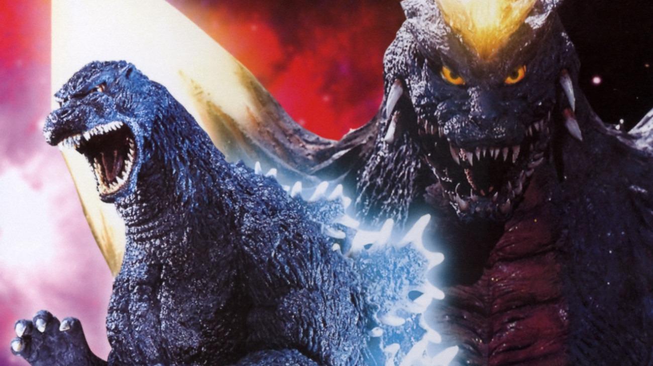 Godzilla vs. SpaceGodzilla backdrop