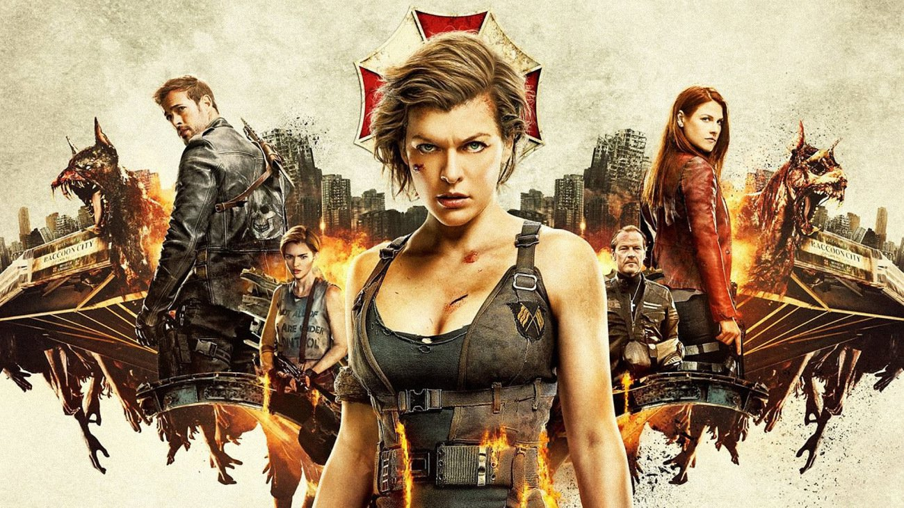 Resident Evil: The Final Chapter backdrop