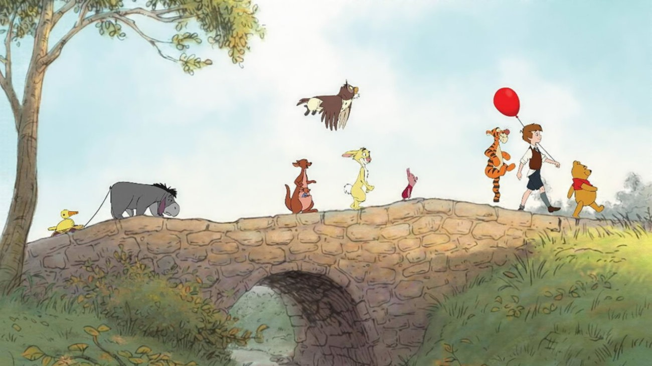 Pooh's Grand Adventure: The Search for Christopher Robin backdrop