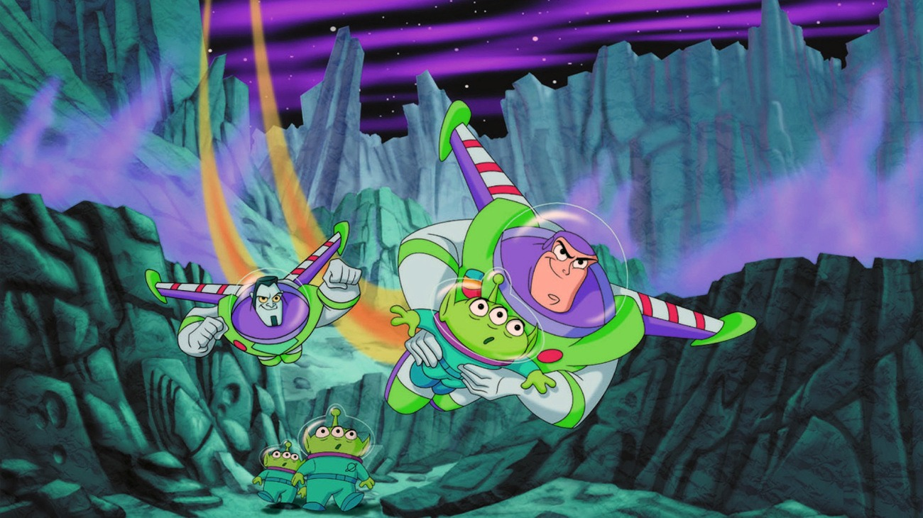 Buzz Lightyear of Star Command: The Adventure Begins backdrop
