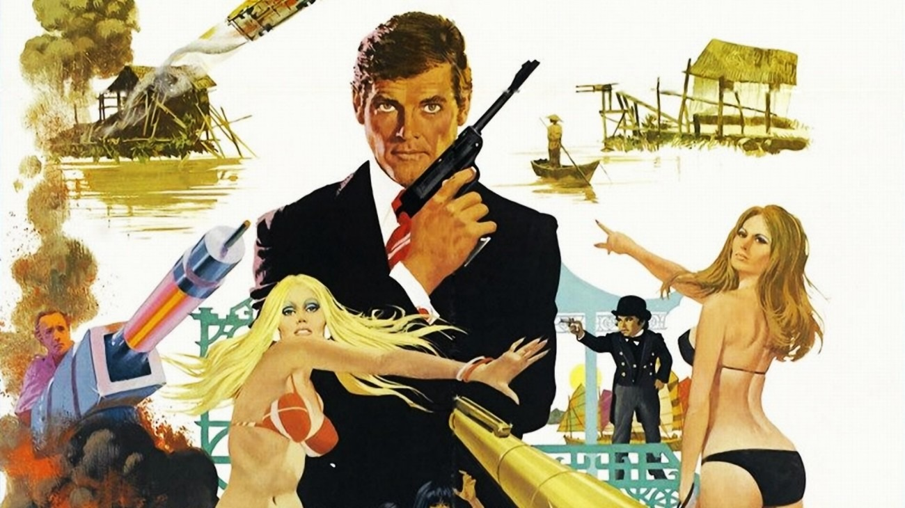 The Man with the Golden Gun backdrop
