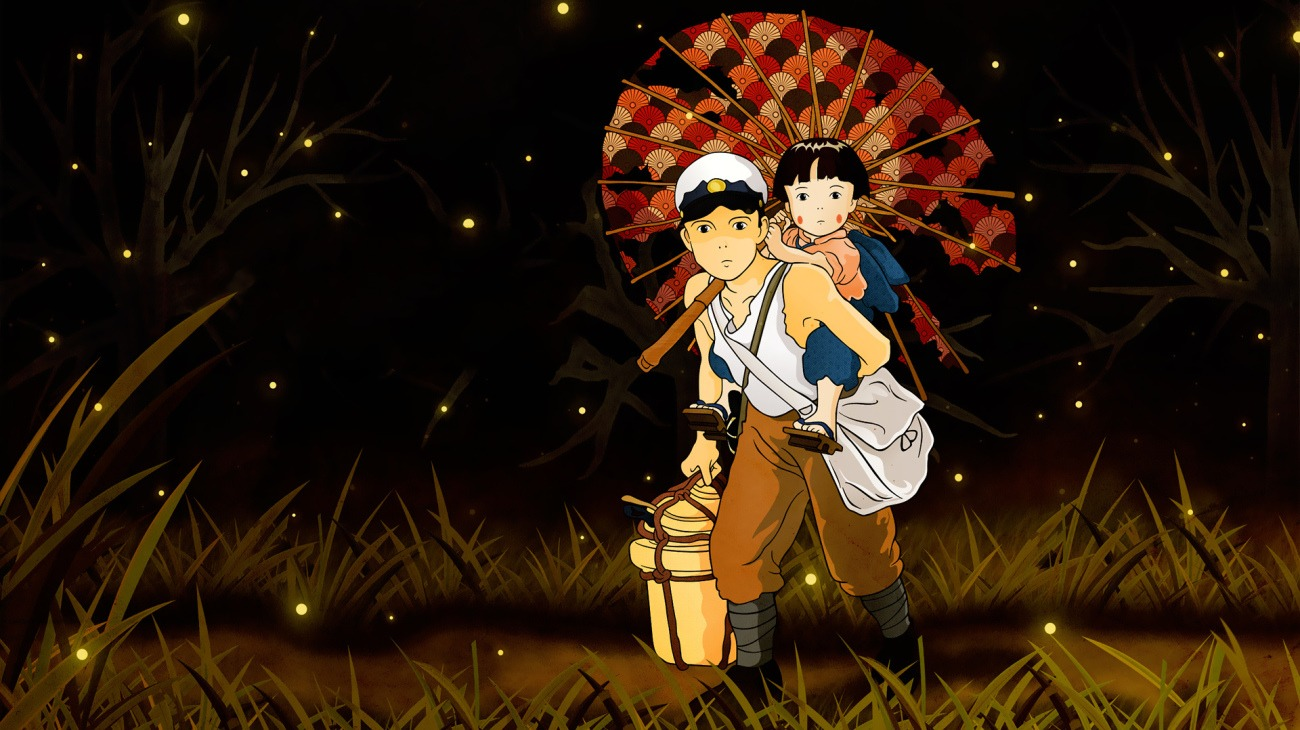 Grave of the Fireflies backdrop