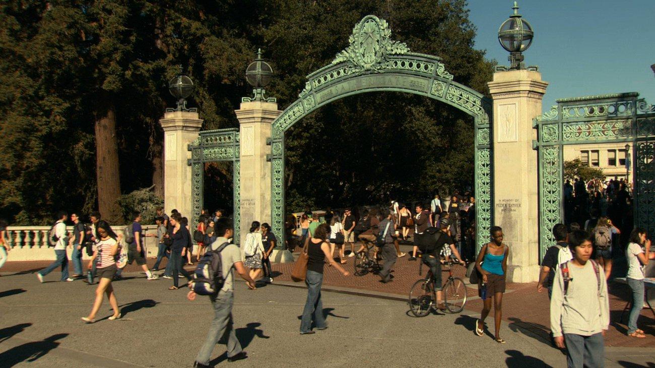 At Berkeley backdrop