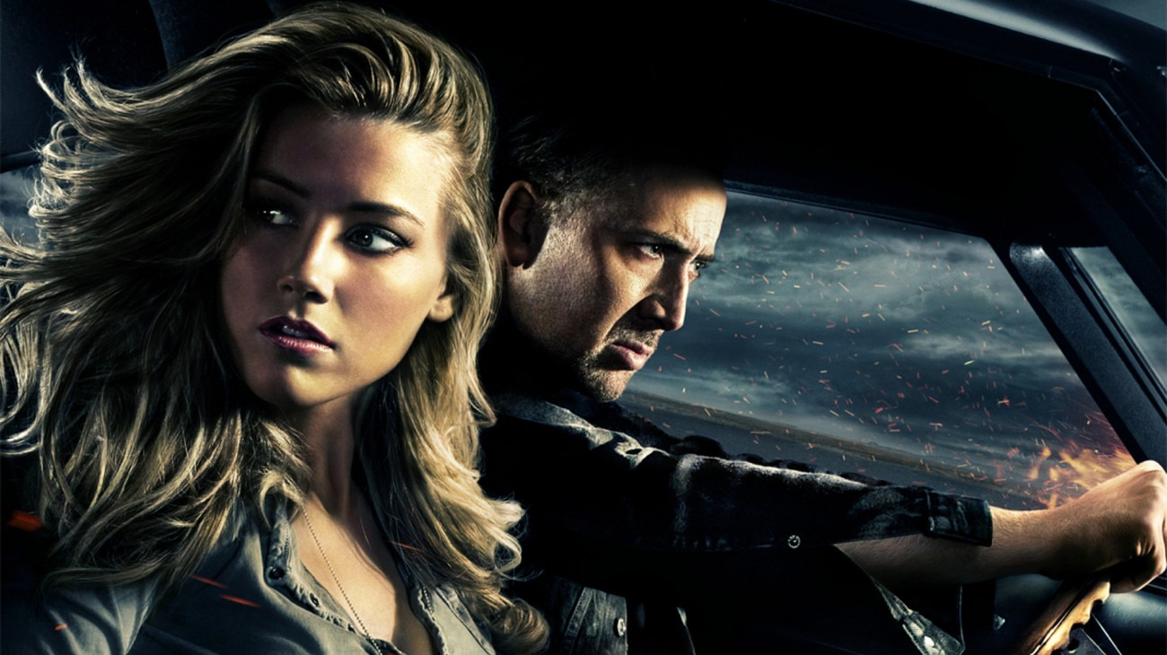 Drive Angry backdrop