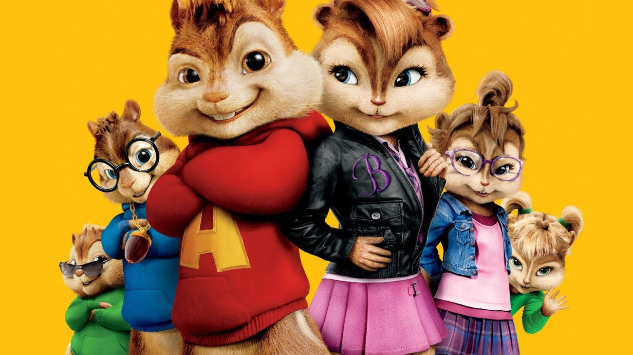 Alvin and the Chipmunks: The Squeakquel backdrop
