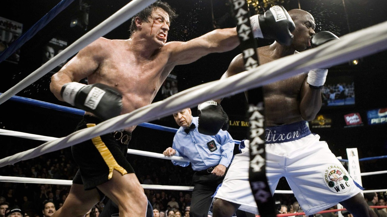 Rocky Balboa backdrop