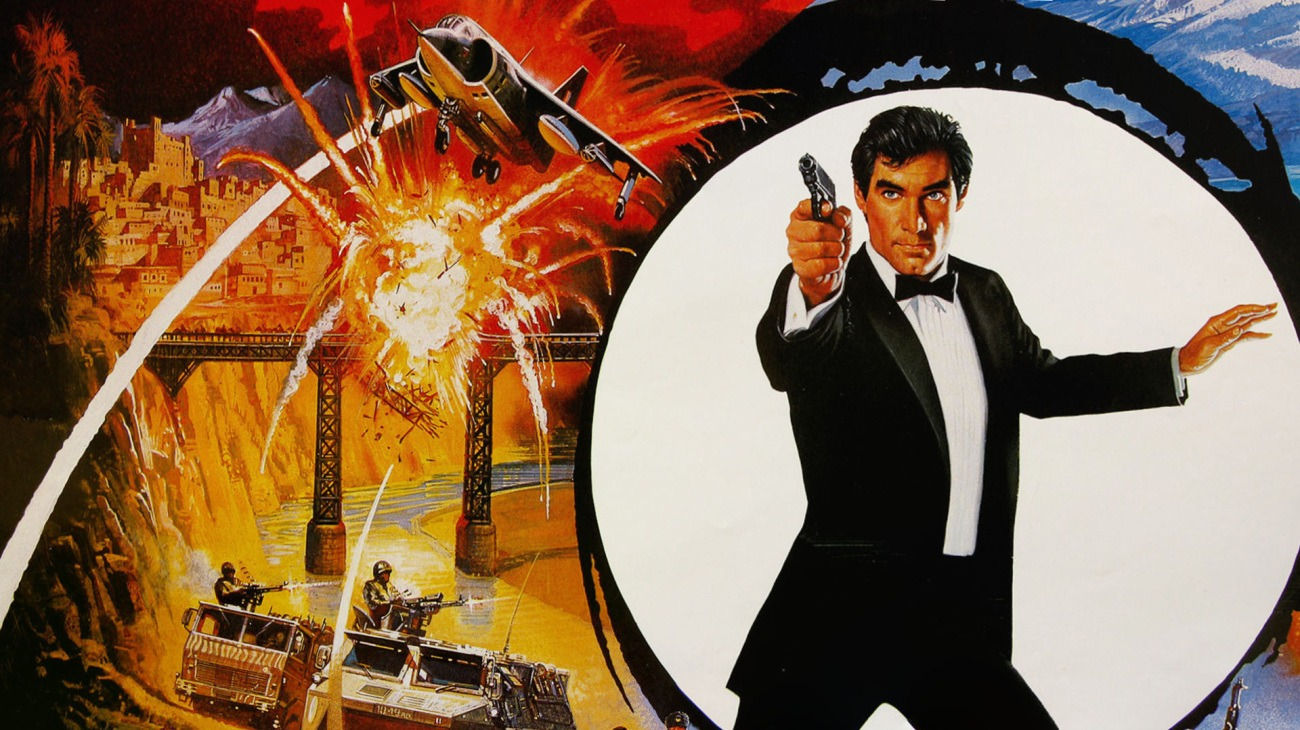 The Living Daylights backdrop