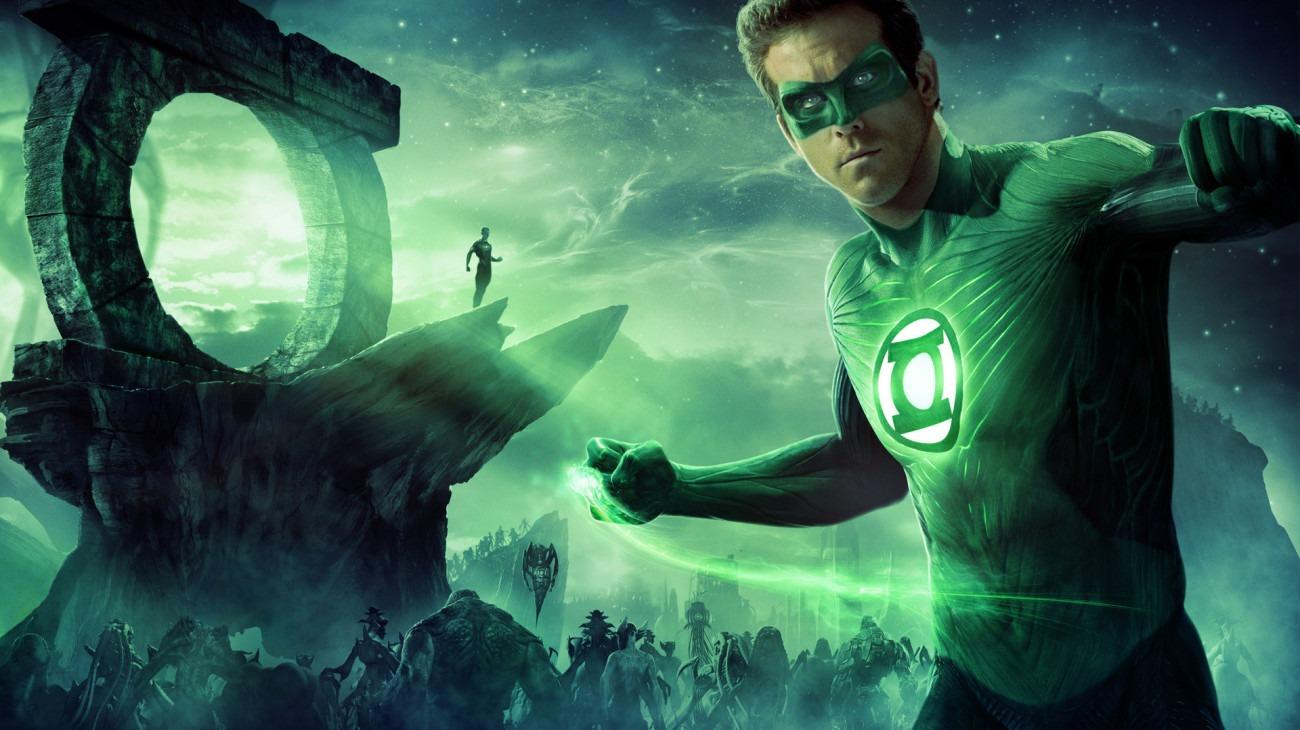 Green Lantern backdrop