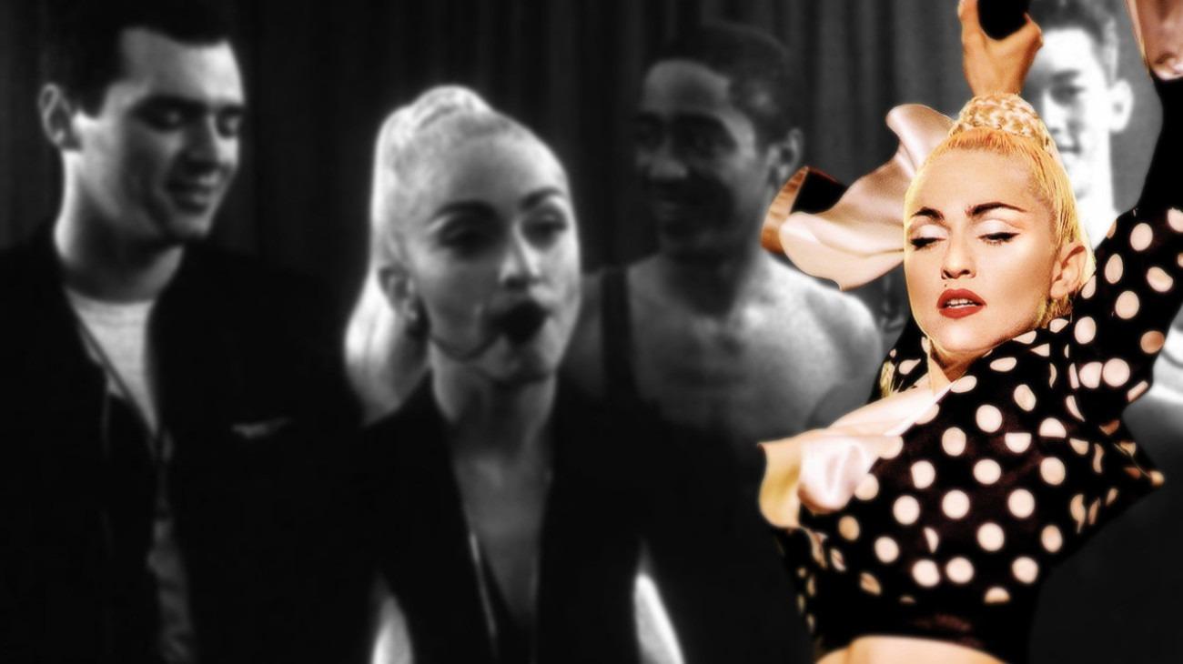 Madonna: Truth or Dare backdrop